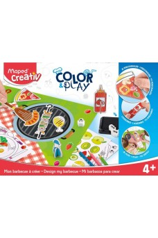 Design My Barbeque Color Play - Maped Creativ