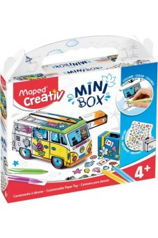 Paper Toy Mini Box - Maped Creativ