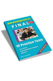 Final 10 Practice Tests New Michigan ECPE C2 CDs(4) Teacher's