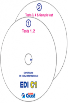 EDI C1 4 Practice Tests (2) Audio CDs Teacher's