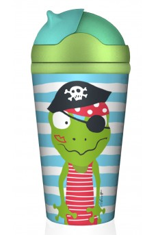 Παγουρίνο bamboo Bottle Piratenschatz Quaky
