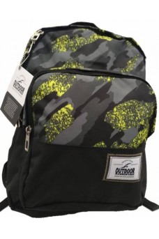 Σακίδιο πλάτης Πλάτης Outdoor Revolution Nautical Black Camouflage