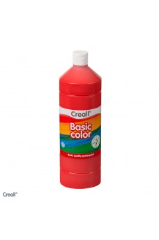 Τέμπερα red Creall Basic Color 500 ml
